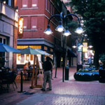 Charlottesville's Pedestrian Downtown Mall